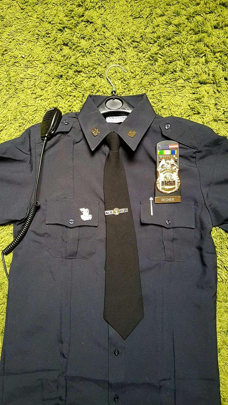 Mon debut de tenue : sergeant du poste 55 20170912