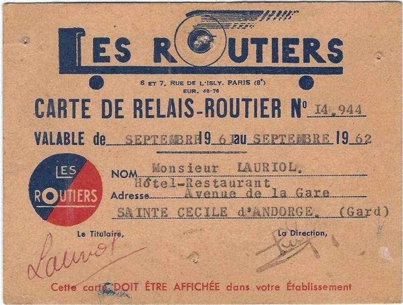 Le Relais routier de Ste Cécile d'Andorge (Gard) 1023