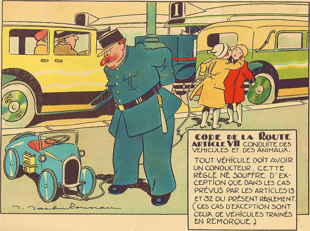 Le Code de la Route illustré (1930) 1156
