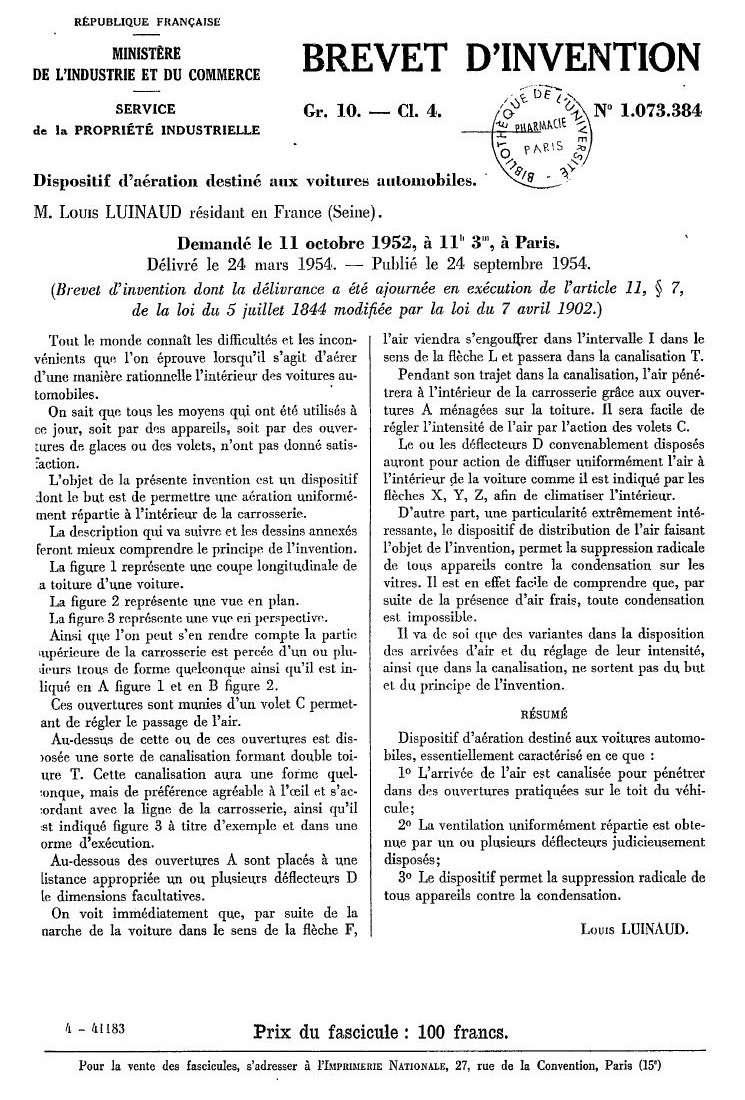 Louis LUINAUD 1254