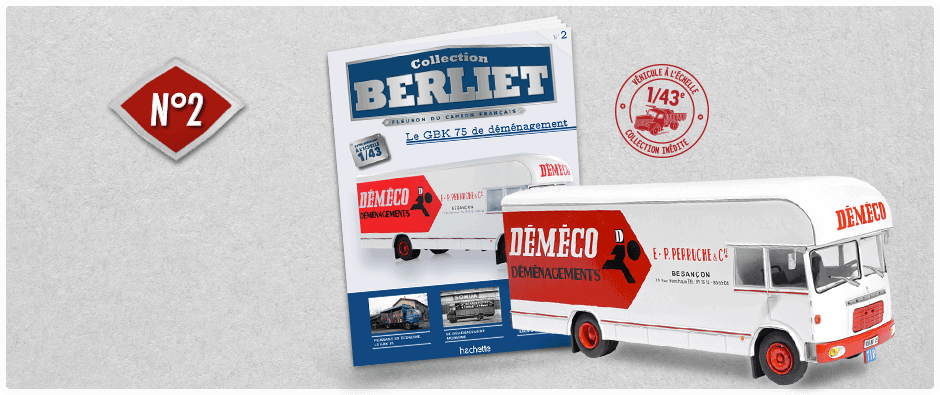 "La collection ""miniatures BERLIET"" d'Hachette au 1/43 1_kdo210"