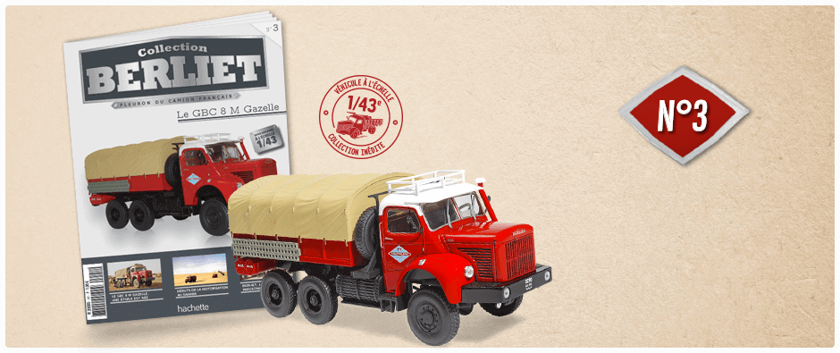 "La collection ""miniatures BERLIET"" d'Hachette au 1/43 1_kdo310"