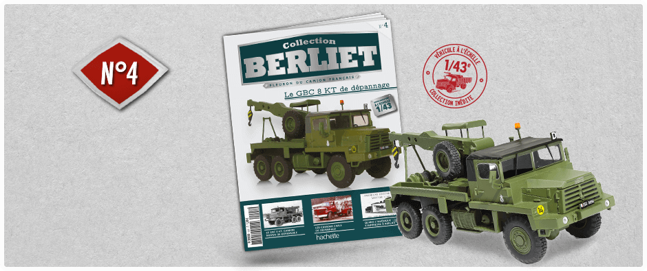"La collection ""miniatures BERLIET"" d'Hachette au 1/43 1_kdo410"
