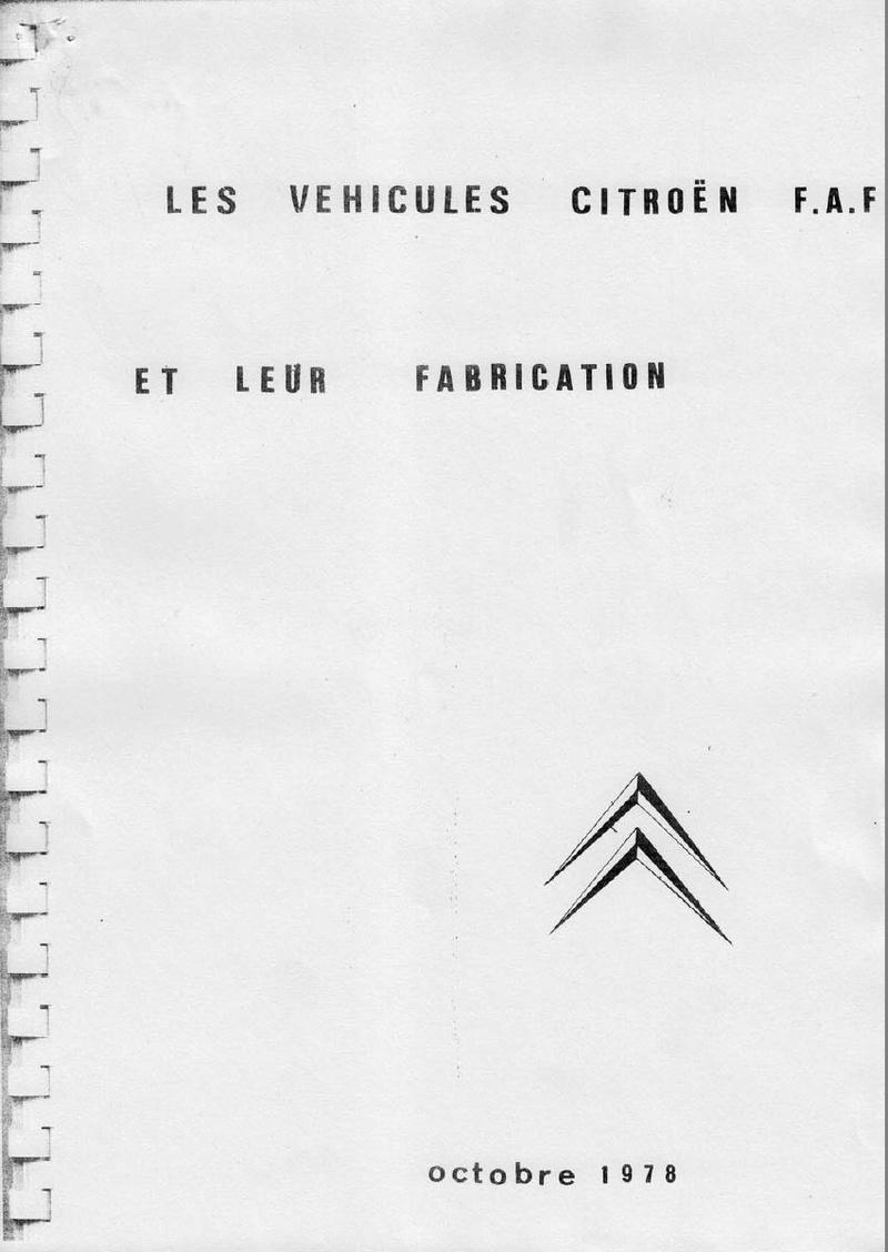 La CITROËN FAF (Facile à Fabriquer) 2431