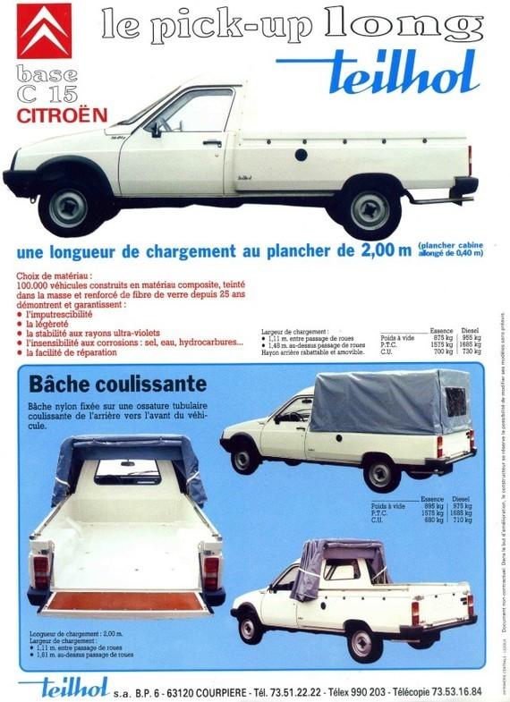 CITROEN C15 Pick-up 3186