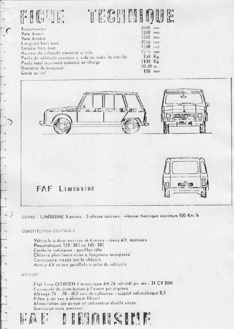 La CITROËN FAF (Facile à Fabriquer) 3280
