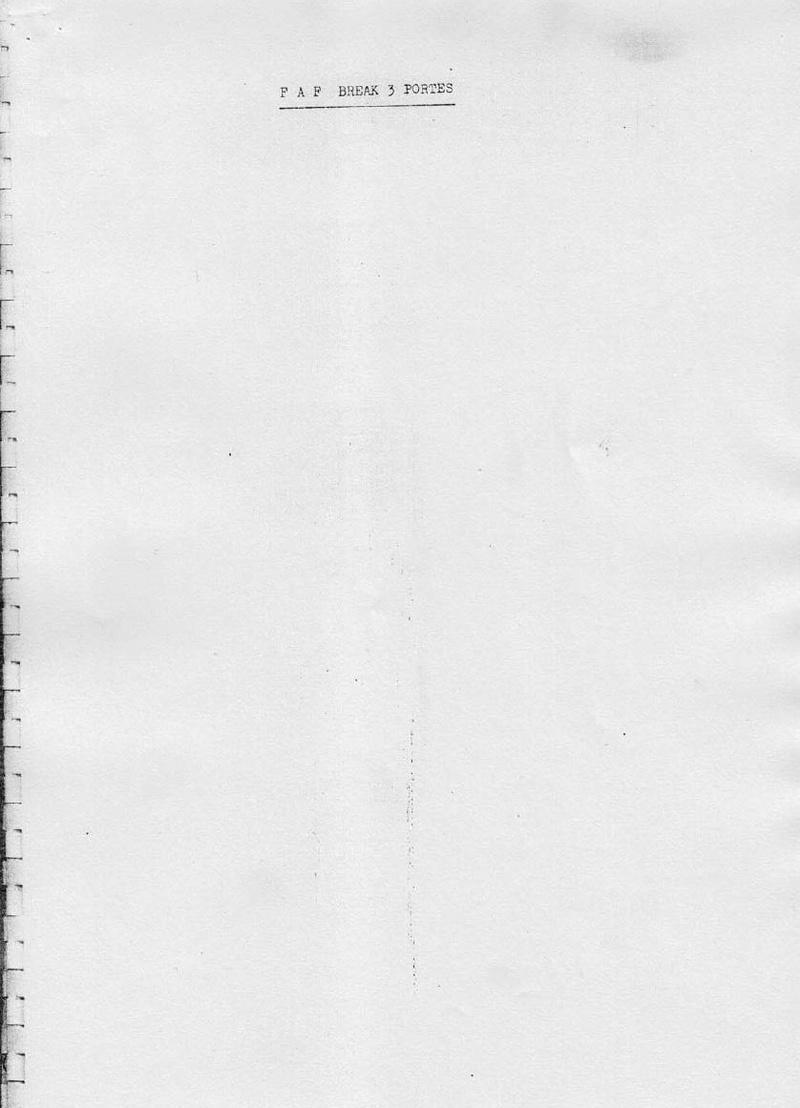 La CITROËN FAF (Facile à Fabriquer) 3417