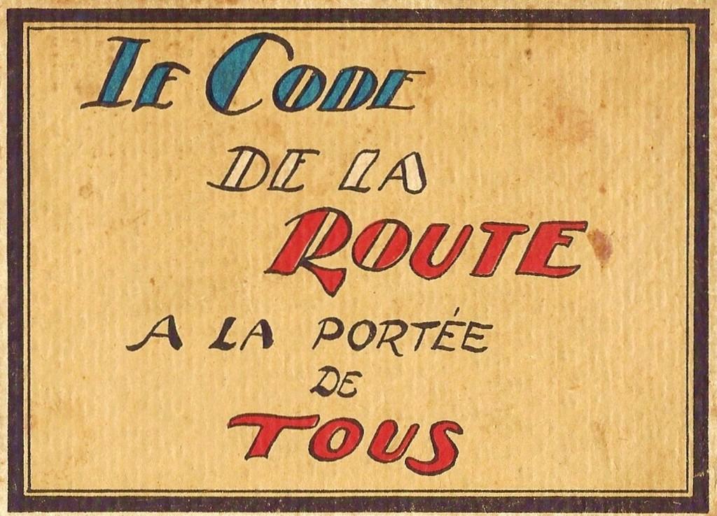 Le Code de la Route illustré (1930) 346
