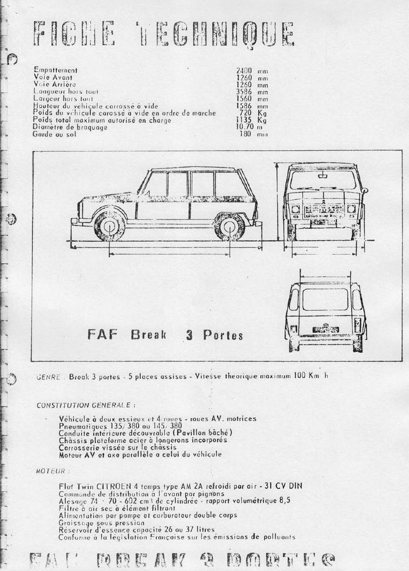 La CITROËN FAF (Facile à Fabriquer) 3616