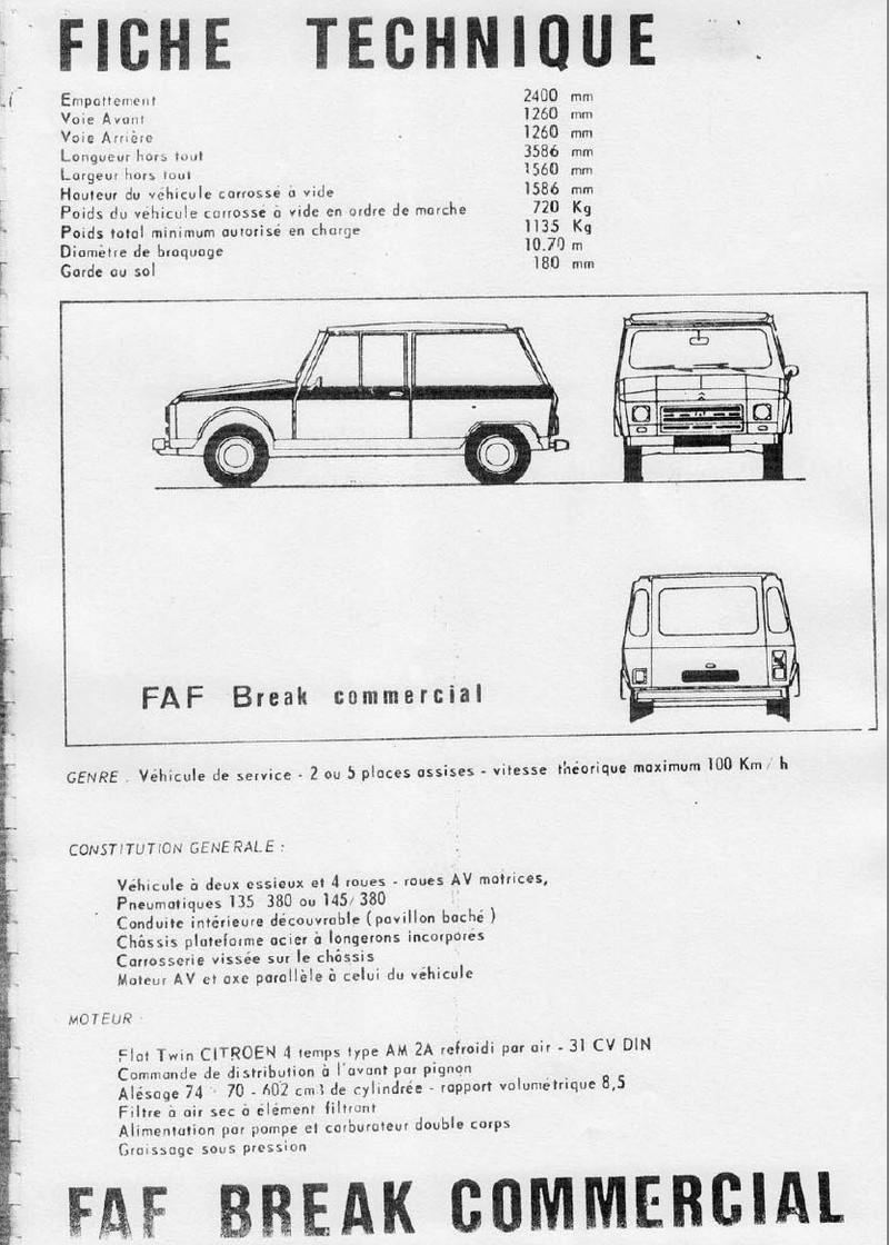 La CITROËN FAF (Facile à Fabriquer) 3913
