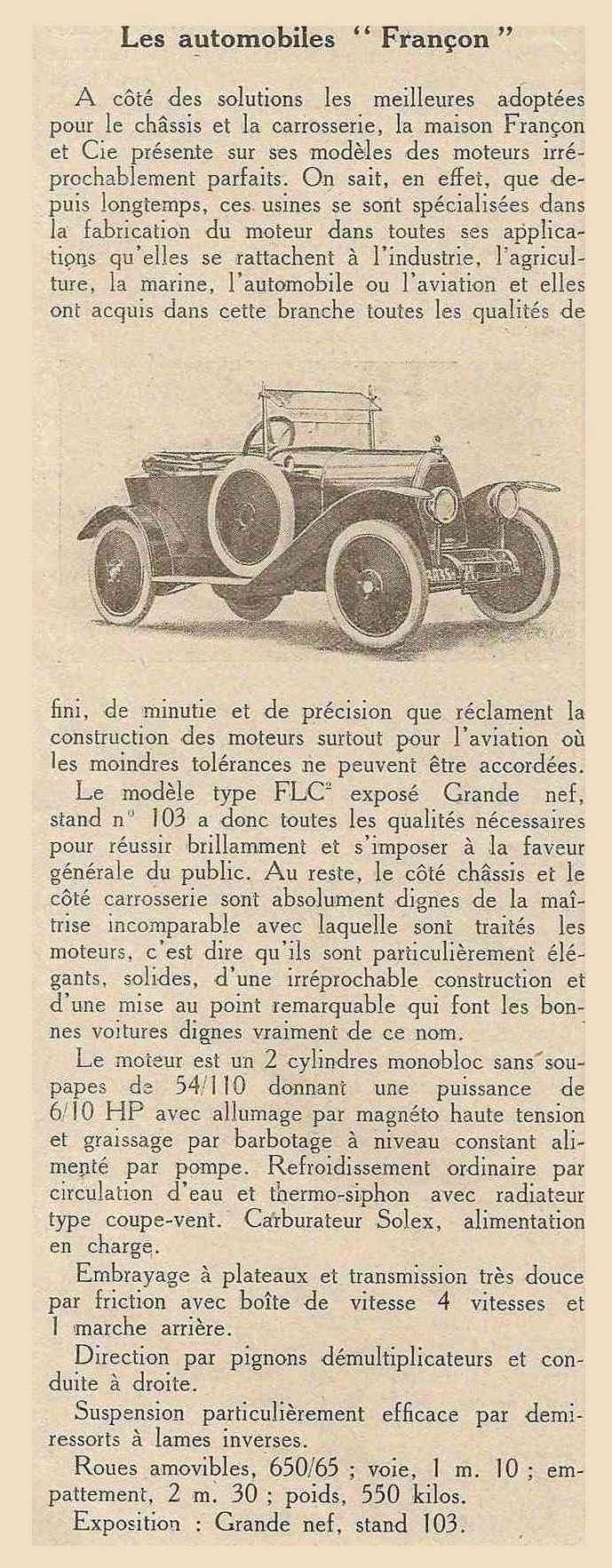 moteur - moteur Françon 4141