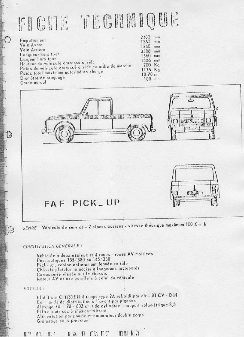 La CITROËN FAF (Facile à Fabriquer) 4213