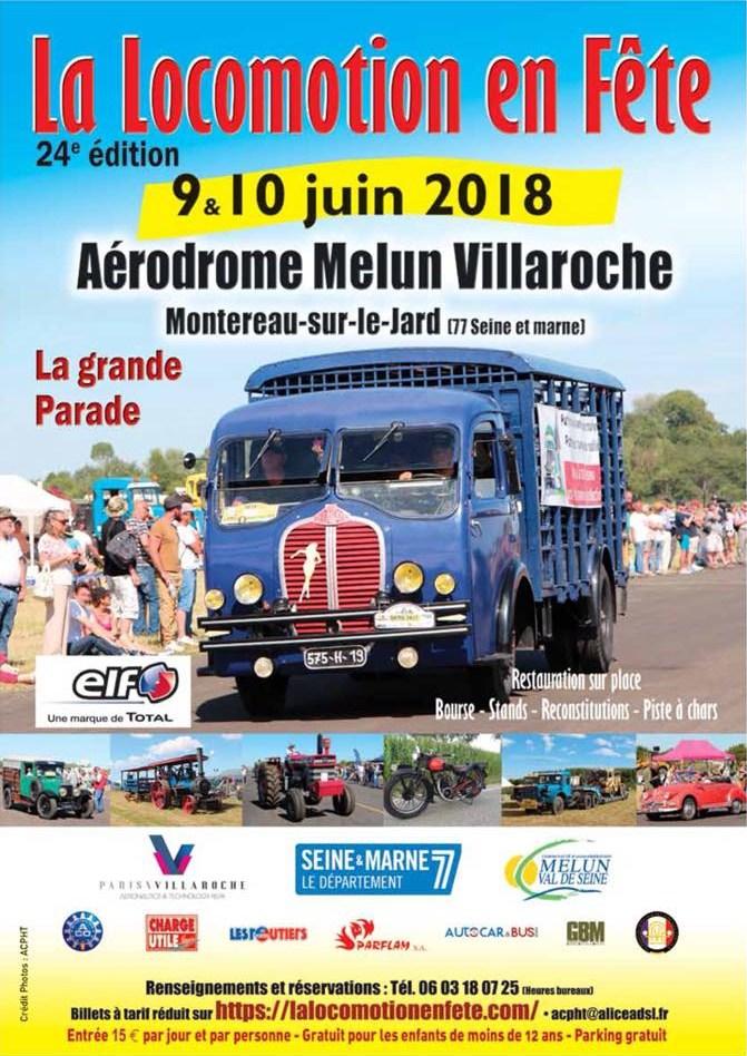 La Locomotion en fête  2018 - Aérodrome de Melun-Villaroche (77) 4288