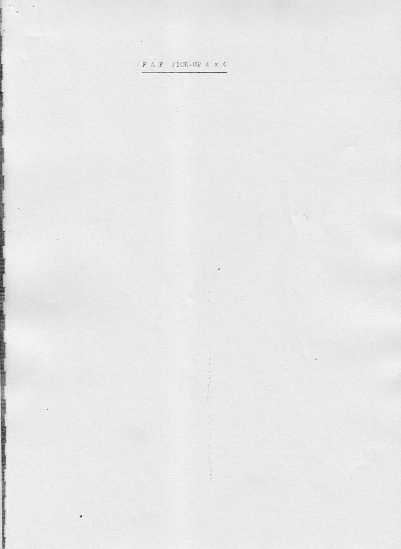 La CITROËN FAF (Facile à Fabriquer) 4412