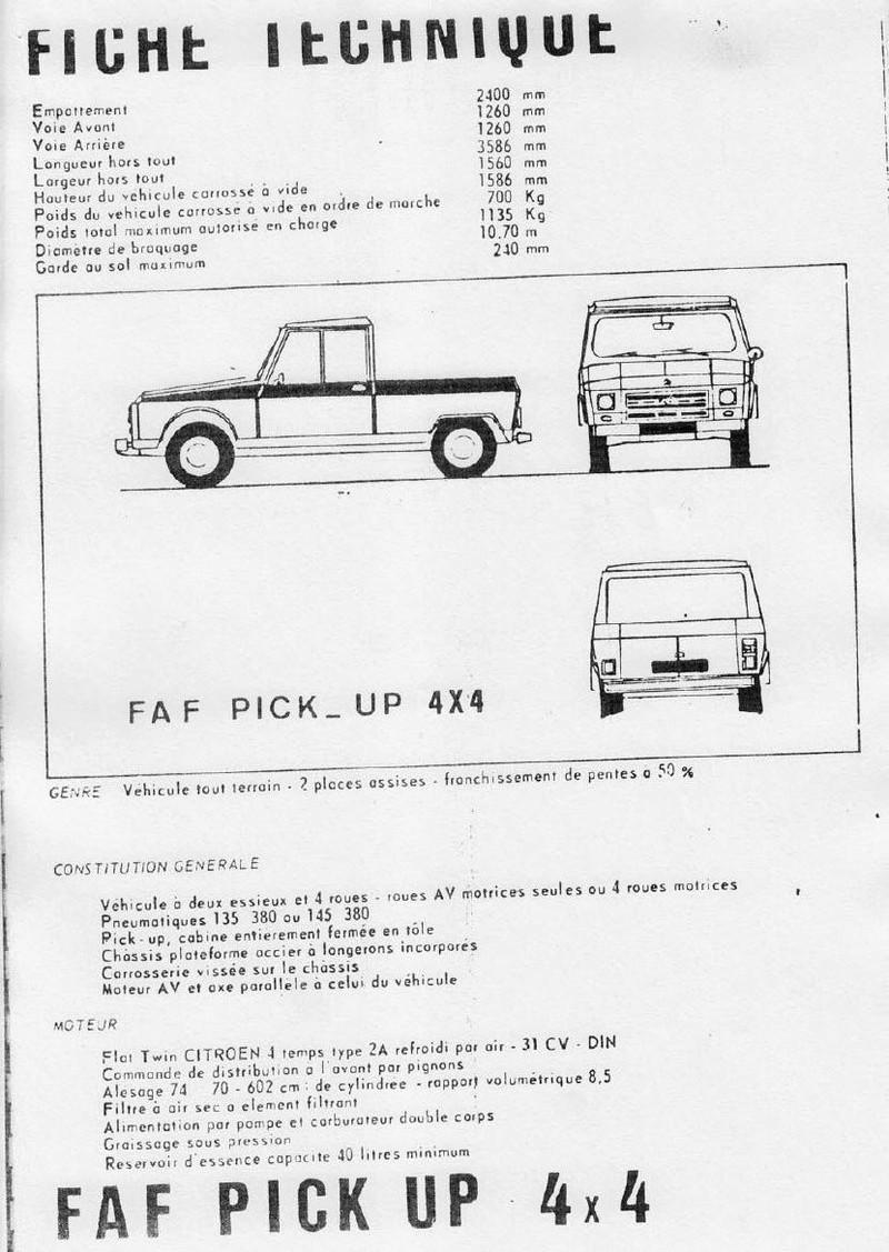 La CITROËN FAF (Facile à Fabriquer) 4511