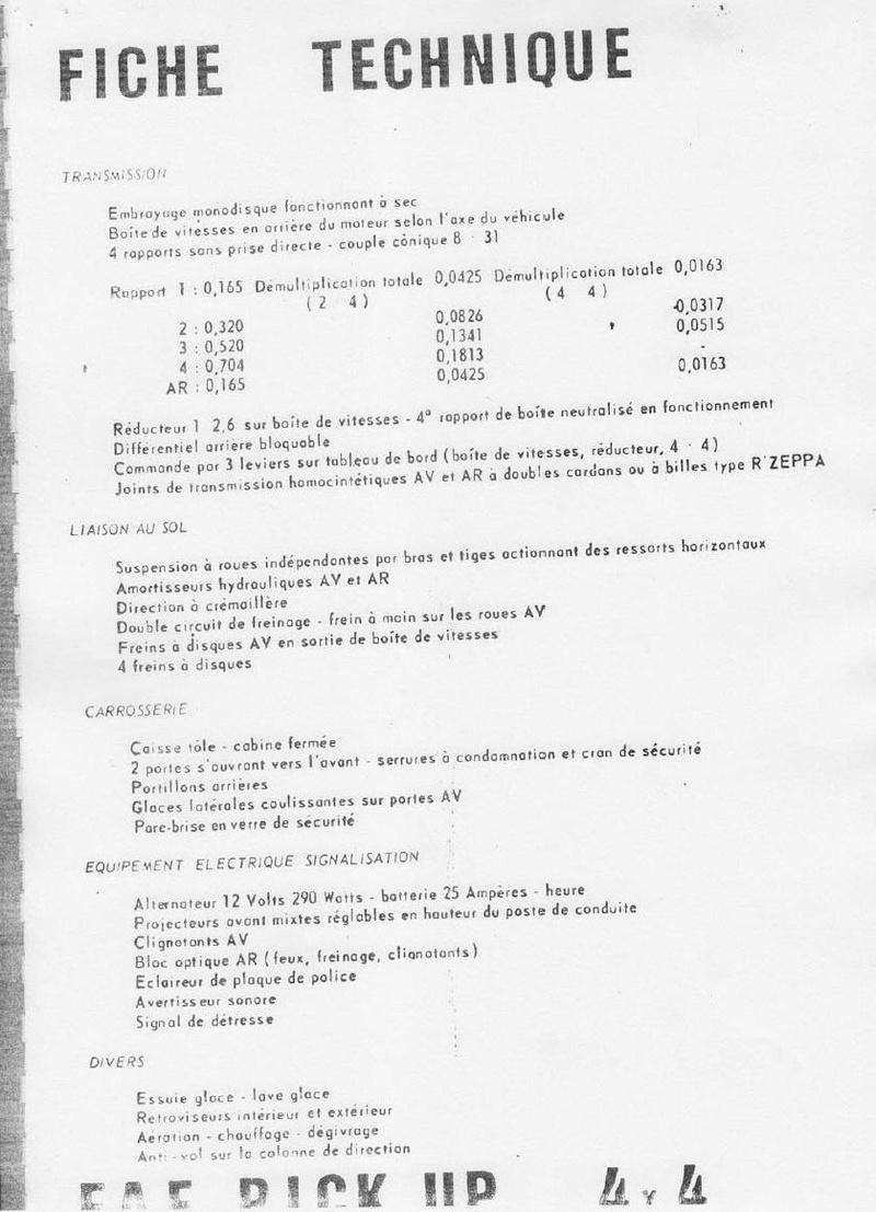 La CITROËN FAF (Facile à Fabriquer) 4611