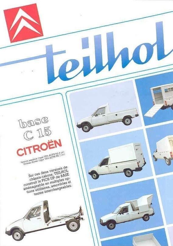 CITROEN C15 Pick-up 5184