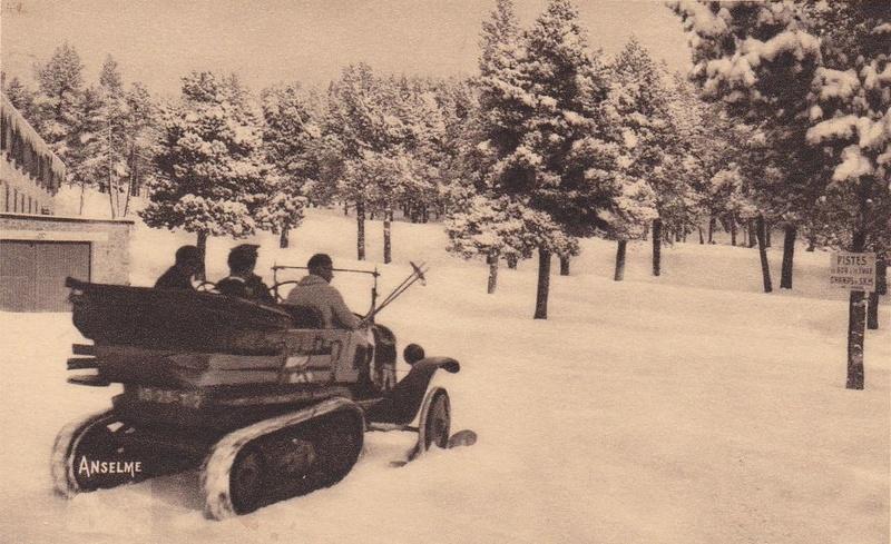 Concours de voiture à chenilles dans les Pyrénées Orientales en 1922 573