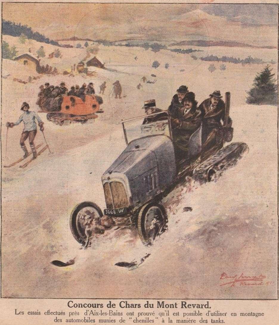 Concours de chars de montagne  au Mont Revard 597