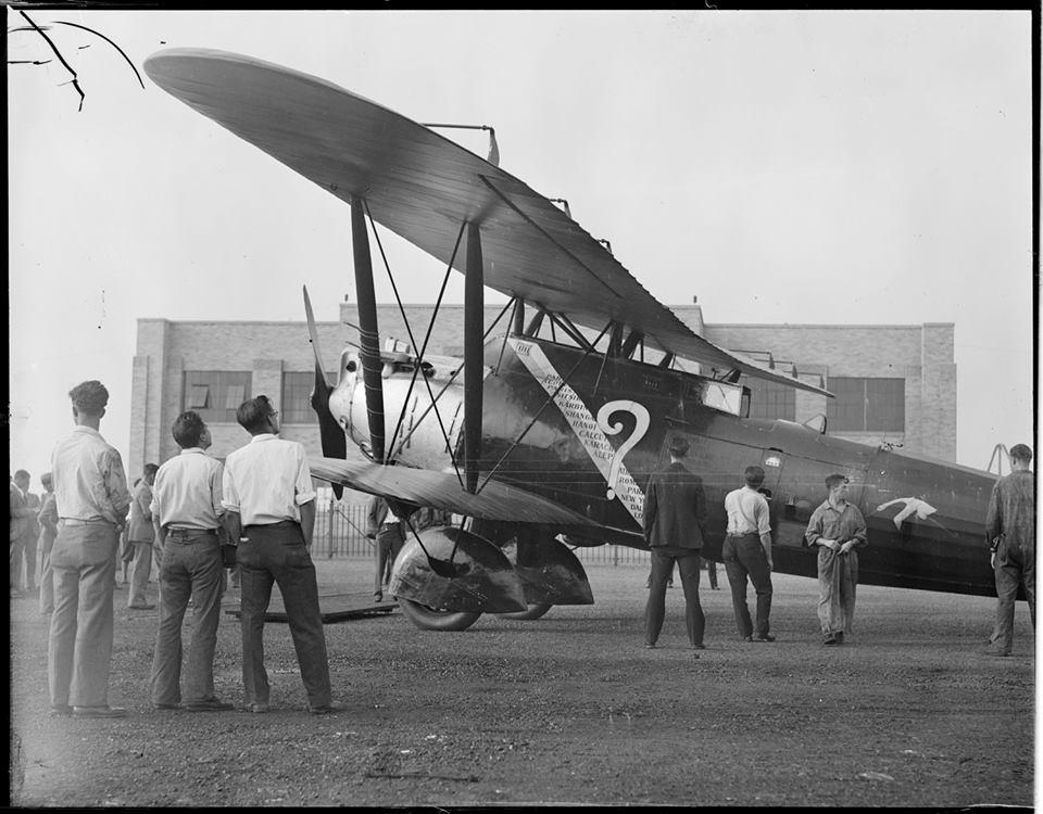 Les Aviateurs Costes et Bellonte en CITROËN C6F 611