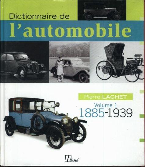 Dictionnaire de l'Automobile de Pierre LACHET 644