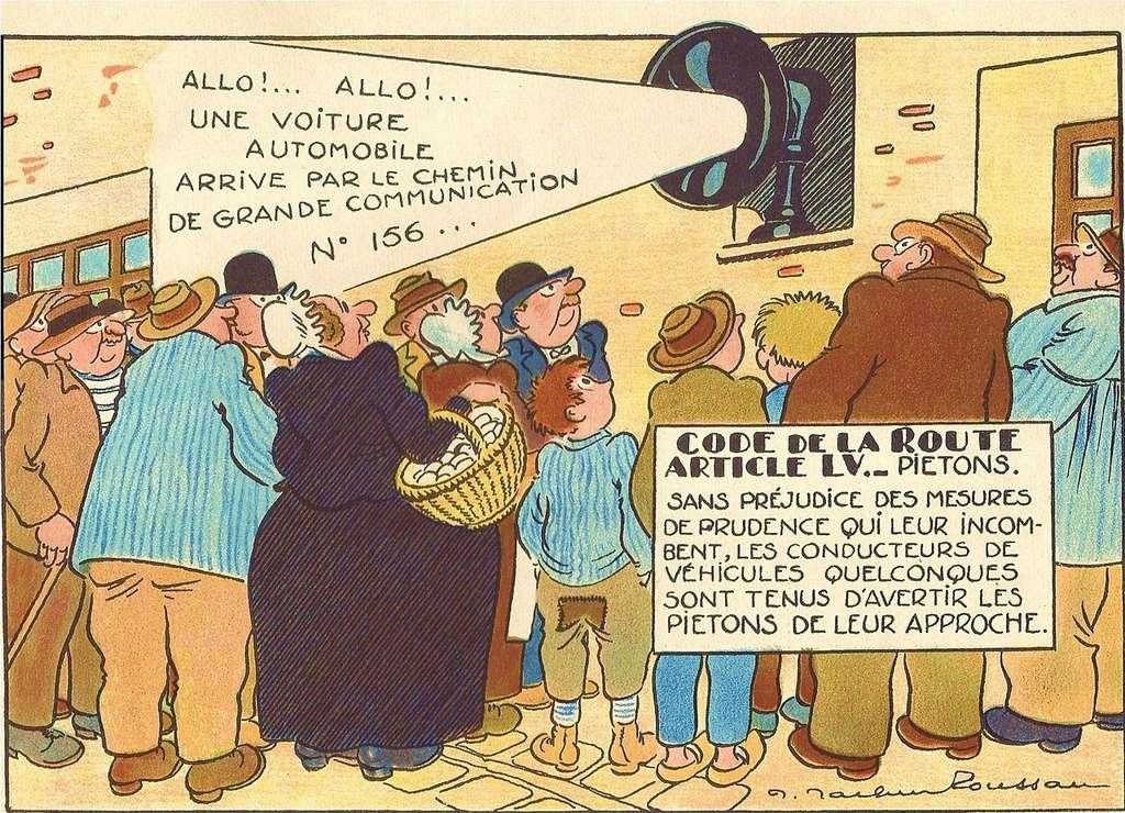 Le Code de la Route illustré (1930) 7112