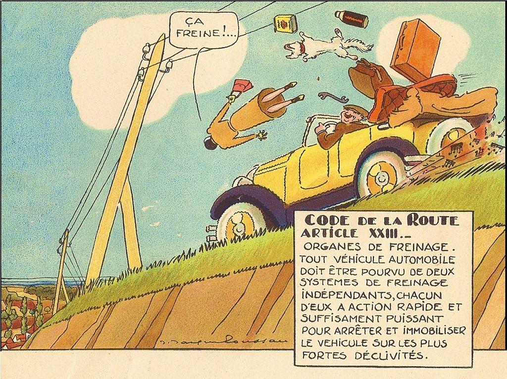 Le Code de la Route illustré (1930) 8109