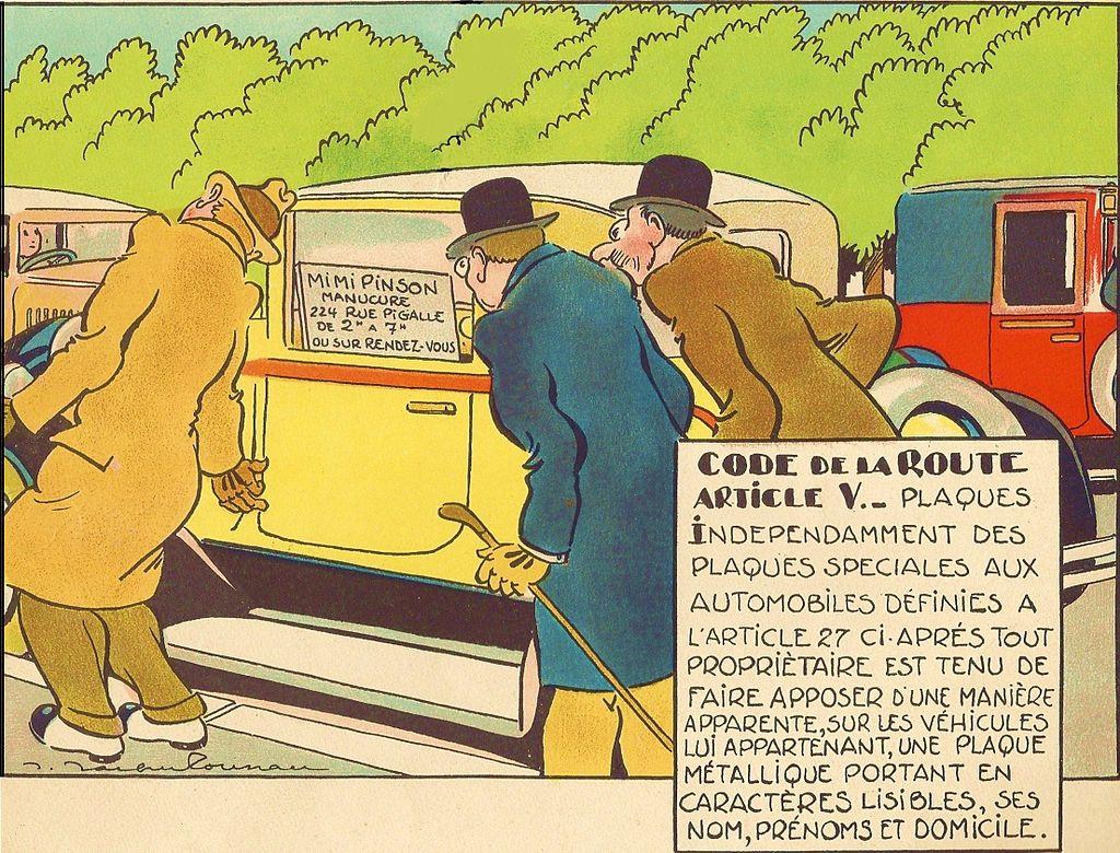 Le Code de la Route illustré (1930) 966