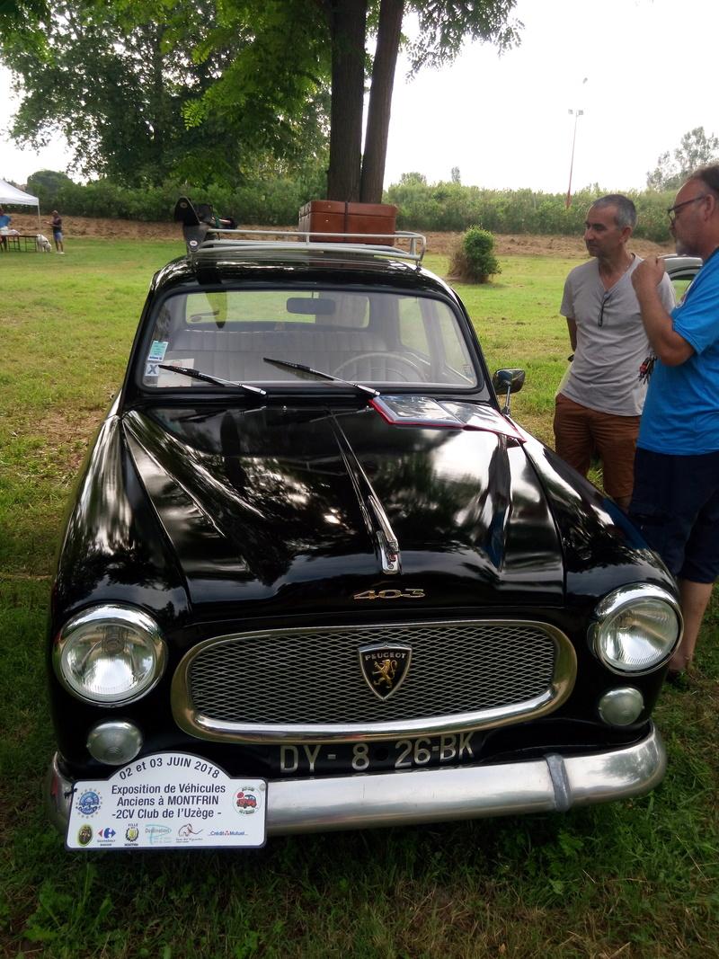 30 - MONTFRIN : 1ère exposition de véhicules anciens 2 et 3 Juin 2018 Img_2714