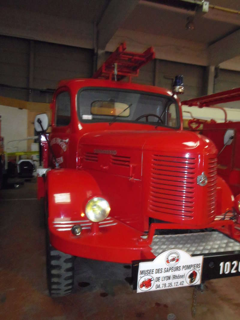 Des camions à gogo....Musée des sapeurs pompiers de Lyon - Page 5 Imgp0926