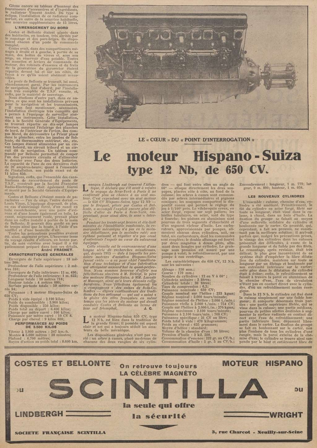 Les Aviateurs Costes et Bellonte en CITROËN C6F Les_ai10