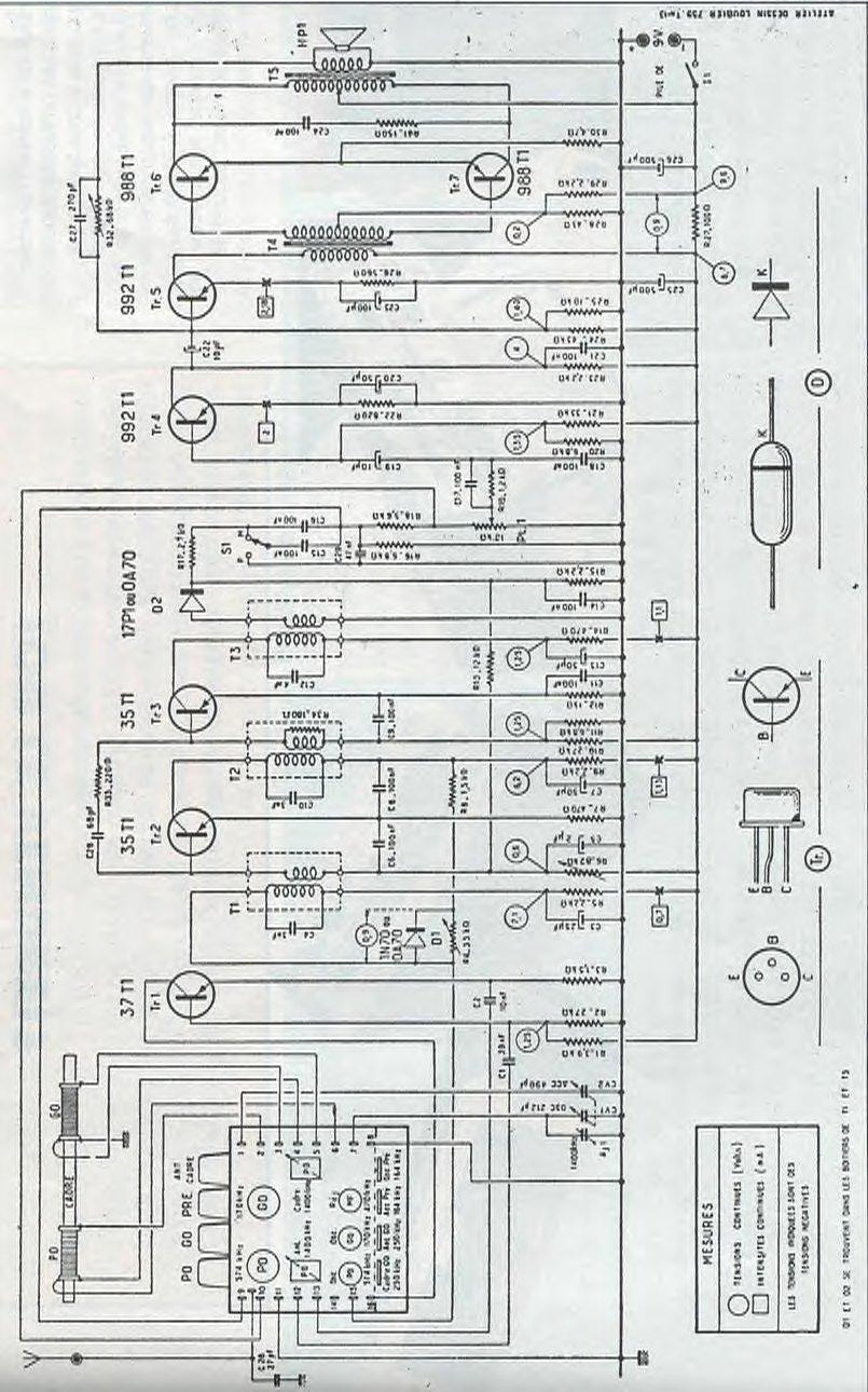 DEMANDE de RENSEIGNEMENTS sur le RADIOËN 1959 Schema10