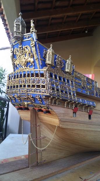 Sovereign of the seas 1637 au 1/78° SERGAL Sovran19