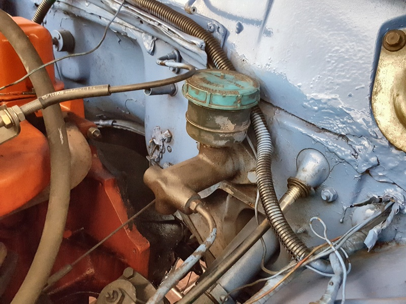 Problema no sistema de freio Opala 1972 20171111
