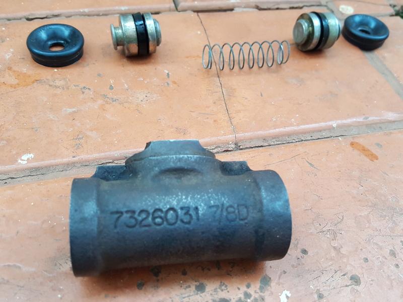 Problema no sistema de freio Opala 1972 20171117