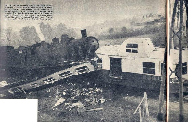 Chantonnay. Il y a 60 ans, l'accident de train avait fait 29 morts 1957-110