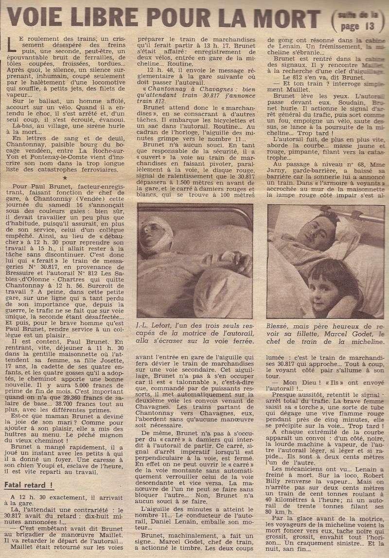 Chantonnay. Il y a 60 ans, l'accident de train avait fait 29 morts 1957_c10