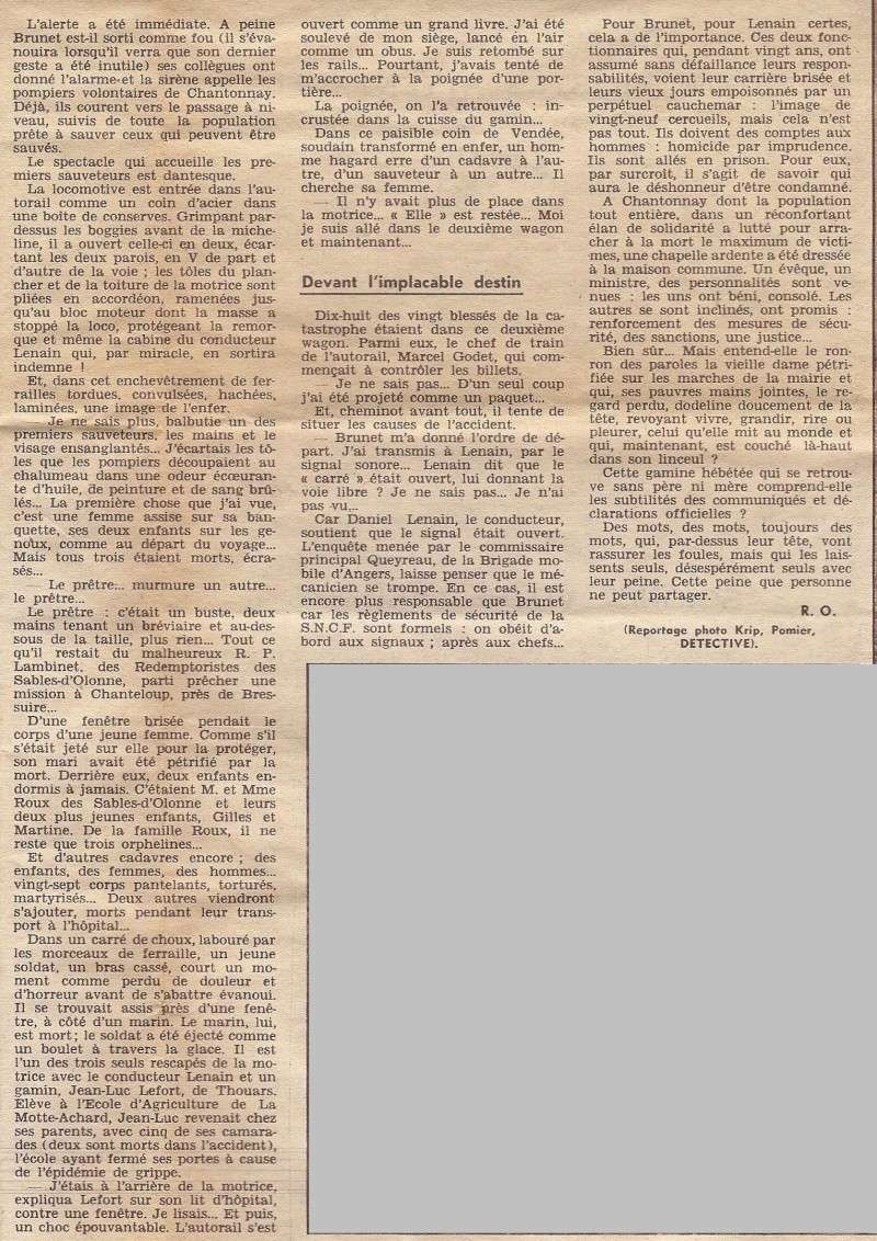 Chantonnay. Il y a 60 ans, l'accident de train avait fait 29 morts 1957_c11