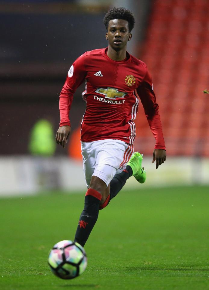 Maillot Extérieur Manchester United Joshua Bohui