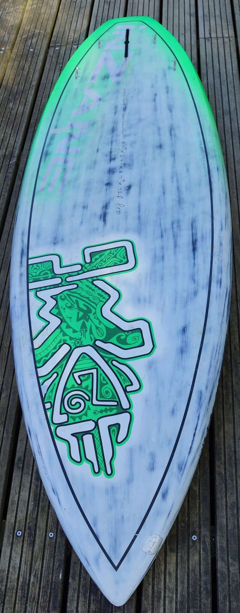 Starboard 7'1 Carbon 450 € Img_5016