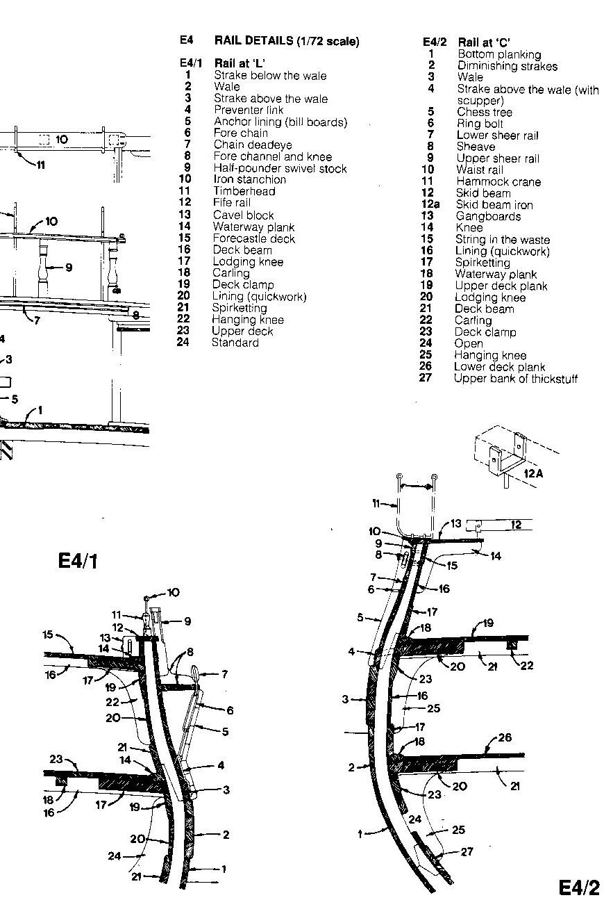 L'Agamemnon 1/64e Caldercraft, kit bashing... - Page 7 Img14310
