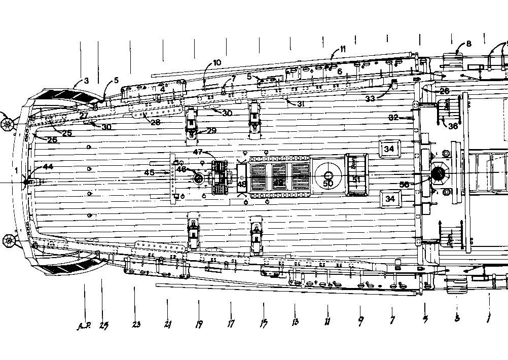 L'Agamemnon 1/64e Caldercraft, kit bashing... - Page 7 Img14510