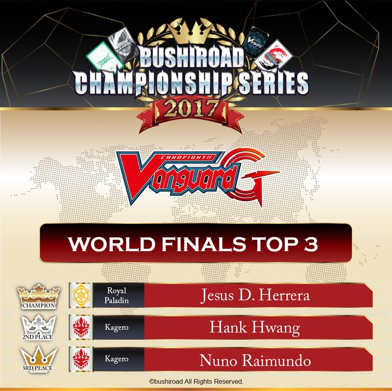 Bushiroad Championship Series 2017 World Finals et World Grand Prix 2017 Résultats! 26904410