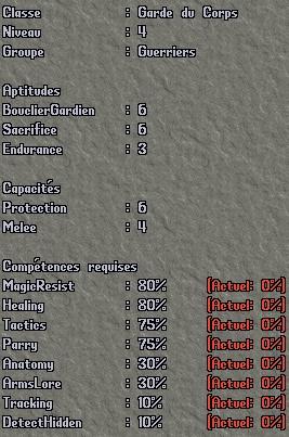 Classe - Protecteur Pro410