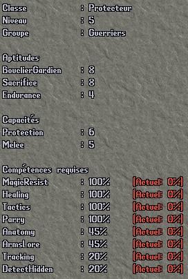 Classe - Protecteur Pro510