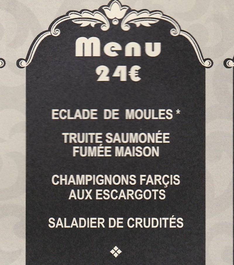 La rando du bistrot 2018 , Le menu !  Entrye10