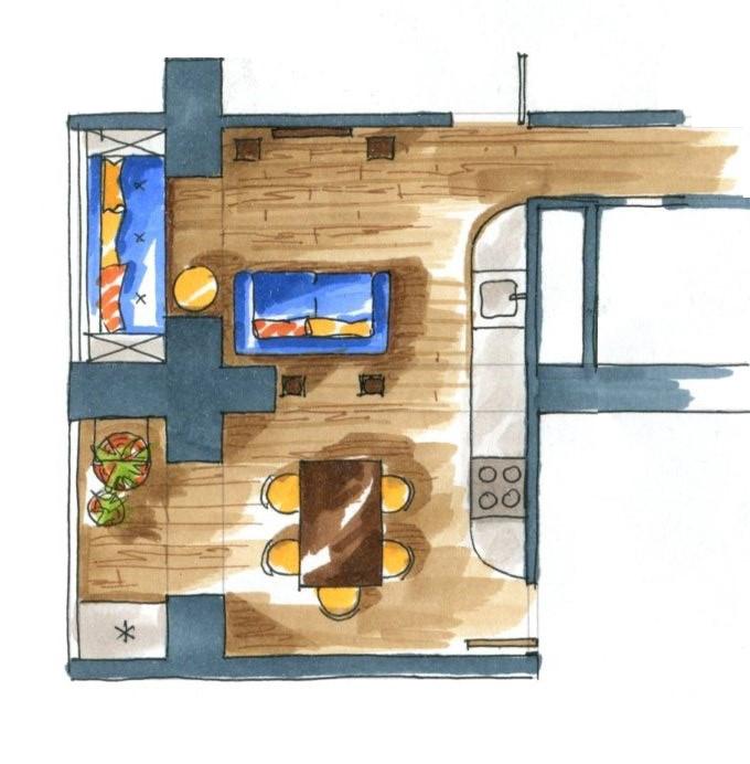 Дизайн интерьера, Перепланировки! Z-diee11