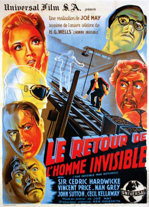 Le Retour de l'homme invisible (1939) de Joe May Ret10