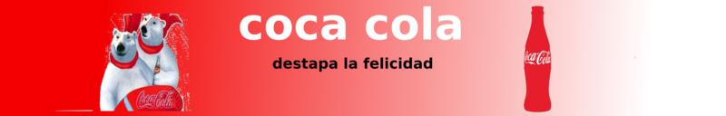 """EVIDENCIA INTEGRADORA """" CREANDO UN BANNER"""" GRUPO 5102 Coca10"""