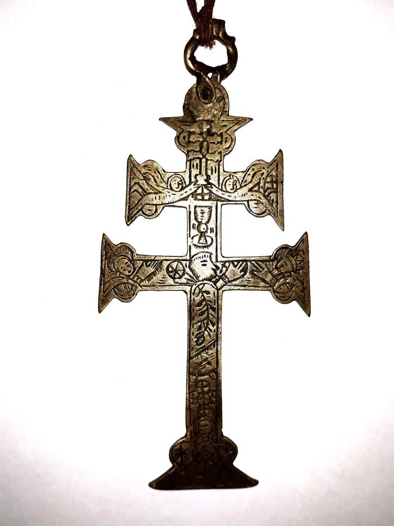 Cruz de Caravaca Incisa, Cristo / Milagro aparición, S. XVII 20171111